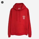 [코싸] koxa dontdesign hoodie-k red 기모 후드티