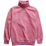[다소울]DASOUL -기모- 헤스티아 목폴라 맨투맨 - 핑크 크루넥 스��셔츠