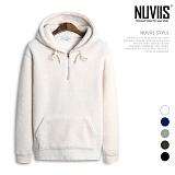 [뉴비스] NUVIIS - 오버핏 양털 아노락 후드티셔츠 (BN080HD)