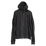 AROUND 80 - ORING HOOD ZIP UP 오링 후드 집업