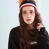 [버닝]Burning Square Print Sweatshirt (Black) 스퀘어 프린트 스��셔츠 크루넥 맨투맨