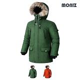 [모니즈]MONIZ 리얼라쿤 패션왕 패딩 점퍼 PJP113 N3B 야상패딩 파카