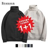 [1+1][Brenson]브렌슨 - 오버핏 터틀넥 기모맨투맨