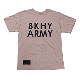 [블랙후디]BLACKHOODY BKHY ARMY T-SHIRT BROWN 반팔티