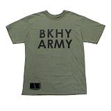 [블랙후디]BLACKHOODY BKHY ARMY T-SHIRT GREEN 반팔티