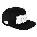 [블랙후디]BLACKHOODY BASIC LOGO SNAPBACK BLACK 베이직 로고 스냅백