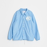 [블랙후디]BLACKHOODY ROSE COACH JACKET SKYBLUE 로즈 코치자켓