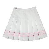 [비에이블투]BABLETWO [WOMAN] Line Tennis Skirt (PINK) 라인 테니스 스커트