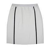 [비에이블투]BABLETWO [WOMAN] Side Line Knit Skirt (WHITE) 사이드 라인 니트 스커트