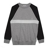 [비에이블투]BABLETWO [UNISEX] Raglan Sweatshirts (GRAY) 래글랜 스��셔츠 크루넥 맨투맨