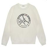 [비에이블투]BABLETWO [UNISEX] Graphic Sweatshirts (WHITE)  그래픽 스��셔츠 크루넥 맨투맨