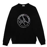 [비에이블투]BABLETWO [UNISEX] Graphic Sweatshirts (BLACK)  그래픽 스��셔츠 크루넥 맨투맨