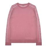 [비에이블투]BABLETWO [UNISEX] Side Logo Raglan Knit (PINK) 사이드 로고 래글랜 니트