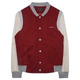 [비에이블투]BABLETWO [UNISEX] Standard Baseball Jacket (BURGUNDY) 스타디움 자켓 야구점퍼