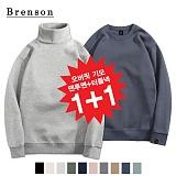[1+1][Brenson]브렌슨 - 오버핏 기모맨투맨+오버핏 기모터틀넥