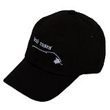 [블랙후디]BLACKHOODY DEAD ROSES SOFT CAP BLACK 데드 로즈 볼캡 야구모자
