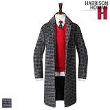 [해리슨]HARRISON - 올 체크 롱코트 RM1216