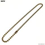 SEXTO - [써지컬스틸]W-012 chain necklace GOLD 목걸이