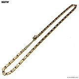 SEXTO - [써지컬스틸]W-014 chain necklace GOLD 목걸이