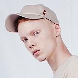 [비에이블투]BABLETWO Signature Leather Ball Cap (BEIGE) 시그니쳐 레더 볼캡 야구모자
