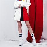 [비에이블투]BABLETWO Coloration Skirt (RED) 스커트