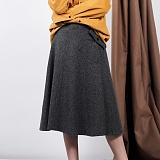 [비에이블투]BABLETWO Poket Detail Long Skirt (GRAY) 포켓 디테일 롱스커트