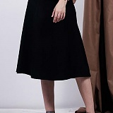 [비에이블투]BABLETWO Poket Detail Long Skirt (BLACK) 포켓 디테일 롱스커트