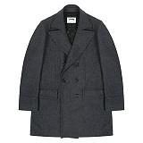 [레이든]LAYDEN - WOOL DOUBLE COAT-GREY울 더블 코트