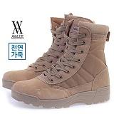 [에이벨류]526-swat 남성 누벅 사막화 부츠-3.5cm(베이지) 남자 스왓 워커 하이탑  신발 슈즈