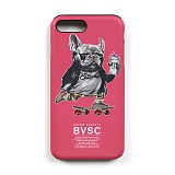 STIGMA - PHONE CASE BULL DOG PINK iPHONE 7/7+ 아이폰 핸드폰케이스