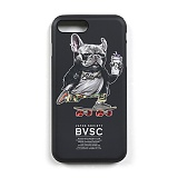 STIGMA - PHONE CASE BULL DOG BLACK iPHONE 7/7+ 아이폰 핸드폰케이스