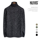 [뉴비스] NUVIIS - 사이로 꽈배기 폴라니트 (DS108KN) 터틀넥