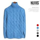[뉴비스] NUVIIS - 탄이 폴라니트 (DS107KN) 터틀넥