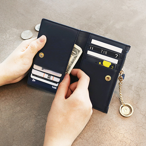[디랩]D.LAB -  Coin Card wallet  - Navy  지갑