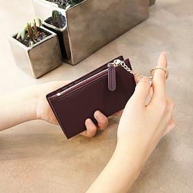 [디랩]D.LAB -  Coin Card wallet  - Burgundy  지갑