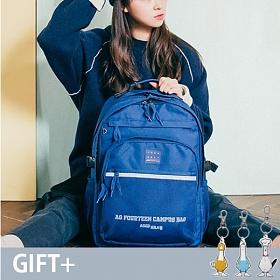 [에이지그레이]AGEDGRAY - AG13FNY SCHOOL ROAD 네이비 스쿨로드 빅 백팩 학생백팩 메쉬백팩 망사백팩
