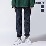 [모니즈]MONIZ 본딩 생지 기모 청바지 PDN907 데님팬츠