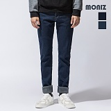 [모니즈]MONIZ 심플 라인 기모 청바지 PDN904 데님팬츠