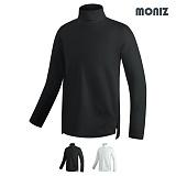 [모니즈]MONIZ 루즈핏 베이직 폴라티 KNP101 목폴라