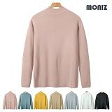 [모니즈]MONIZ 무지 반목폴라 니트 KNR061