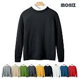 [모니즈]MONIZ 와플 컬러 니트 KNR056