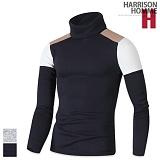 [해리슨]HARRISON - 기모 숄더 배색 폴라 RT1140 목폴라