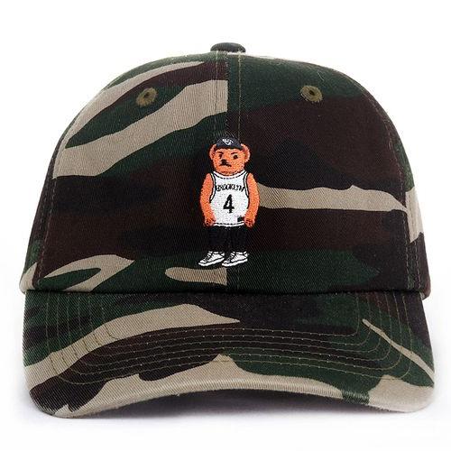 [애니메메스]ANY MEMES Roc bear (CAMO) 볼캡 야구모자