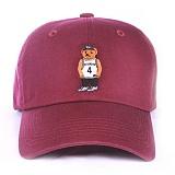 [애니메메스]ANY MEMES Roc bear (BURGUNDY) 볼캡 야구모자