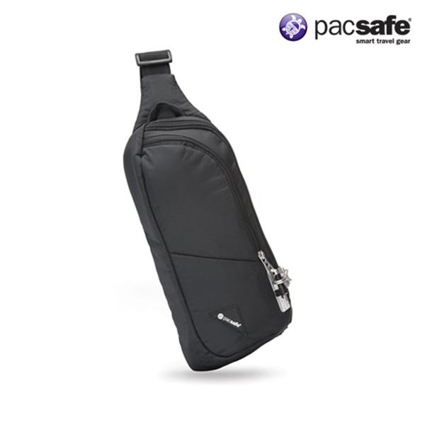 [팩세이프]PACSAFE - Vibe 150 Black 공식수입정품 (도난방지 여행용 크로스 슬링백)