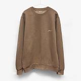 [이치니] ichiny g01 crewneck-k brown 기모 맨투맨 크루넥 스��셔츠