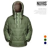 [뉴비스] NUVIIS - 덕다운 패딩아노락 후드 (SP040HD)