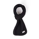 와일드브릭스 - VIN STOLE (black) 면 스톨 목도리