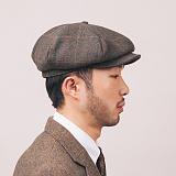 [와일드브릭스] WILDBRICKS - NEWSBOY CAP (khaki) 뉴스보이 빵모자