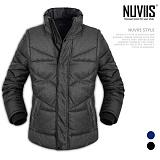 [뉴비스] NUVIIS - 배색 조끼 변형 패딩점퍼 (WS032PD)